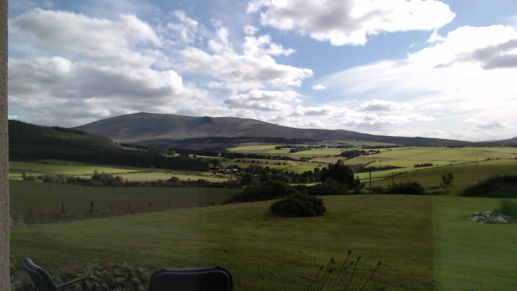 Ben Rinnes, captured by the webcam